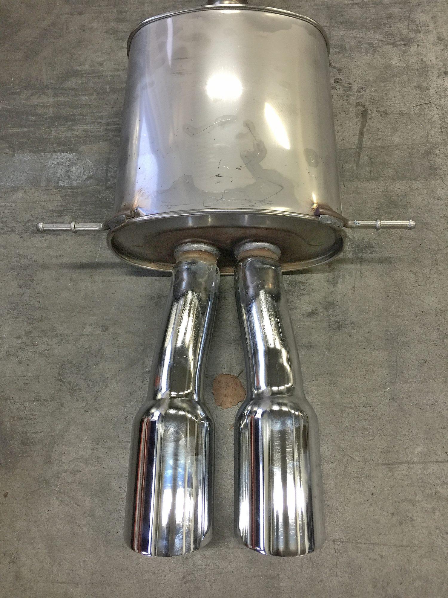 Elferbasede Jcw Werks Works Endschalldämpfer Mini Cooper S Inkl