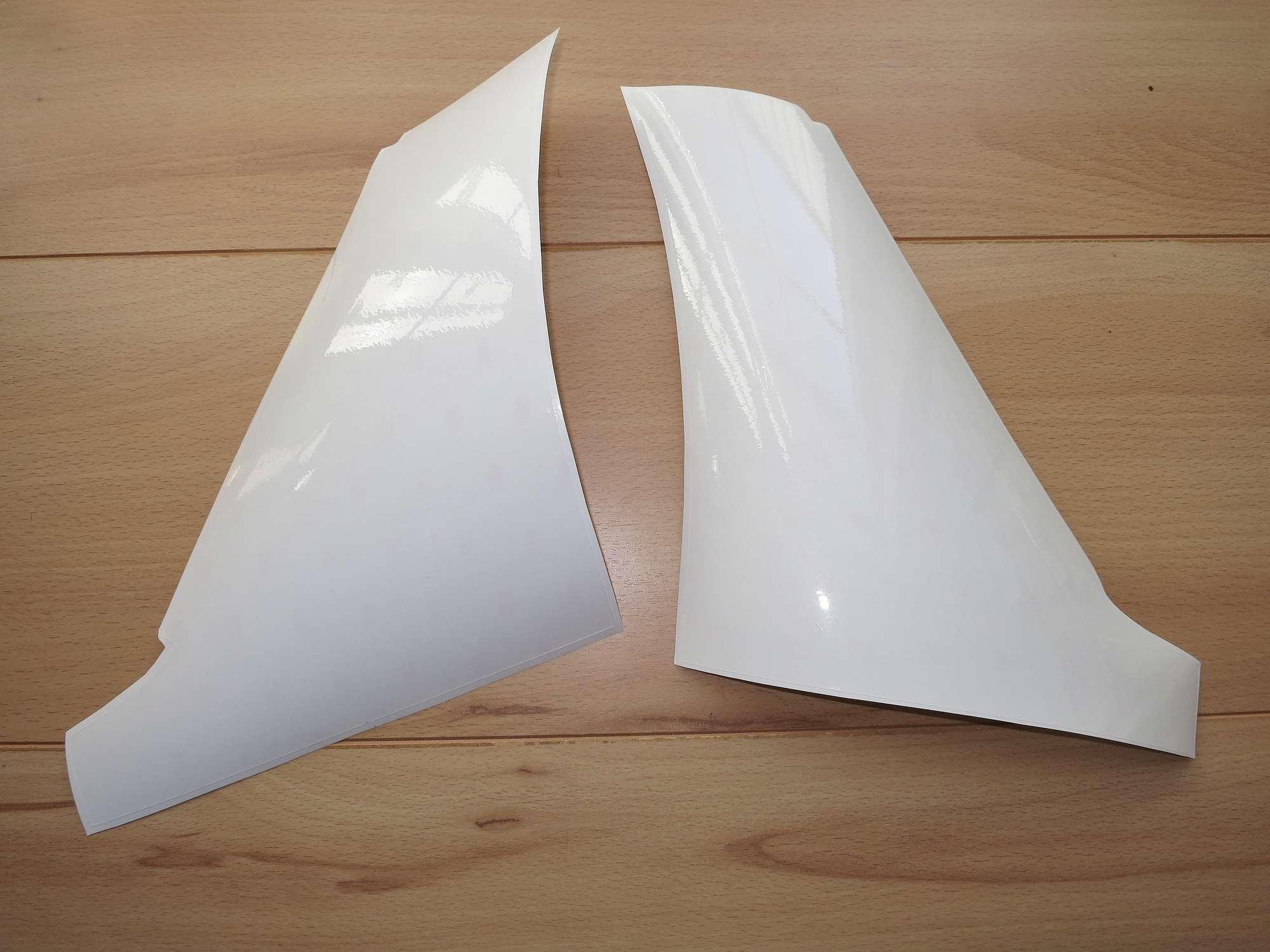Steinschlagschutz Lackschutzfolie  transparent für Radlauf hinten universal